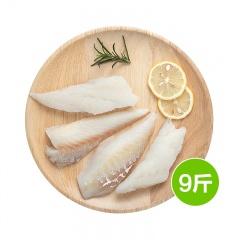 阿拉斯加野生進口鱈魚500g/袋*9袋