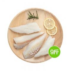 阿拉斯加野生进口鳕鱼500g/袋*9袋