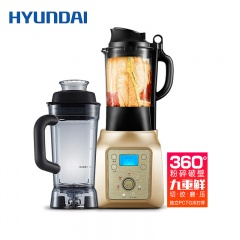 韩国现代智能加热破壁机料理机QC-LL2423+独立PCTG冷打杯