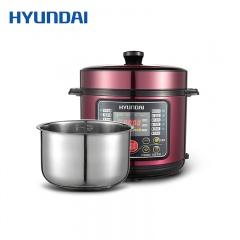 韩国现代HYUNDAI家用一锅双胆多功能智能5L电压力锅电饭锅QC-YL519D