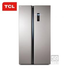 TCL519升智慧风冷对开门冰箱