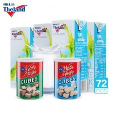 新西兰原装进口Theland纽仕兰高钙低脂牛奶特别加赠组 250ml*72盒