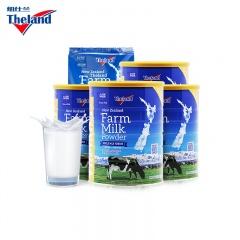 新西兰原装进口Theland纽仕兰牧场奶粉牛奶金罐818g*4罐+1kg*1袋