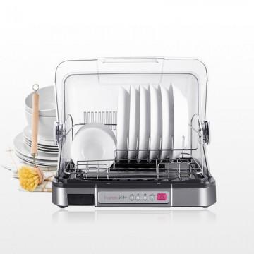 韩加移动式餐具高温保洁柜(B380)1台+保鲜餐具3件套