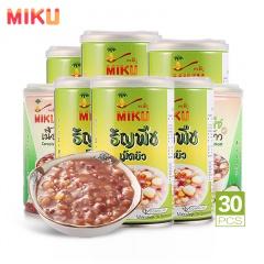 泰国原装进口MIKU泰八宝营养放心粥 330ml*24罐 赠茉莉香米粥260ml*6罐