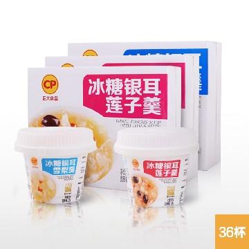 CP正大食品冰糖银耳羹24罐+冰糖雪梨羹12罐