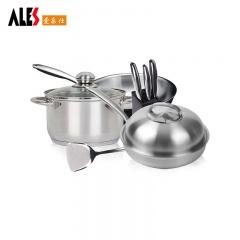 德国ALES(爱乐仕)不锈钢锅具年终特惠组