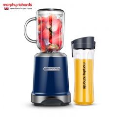 摩飞(Morphyrichards)营养果蔬料理机榨汁机MR9500超值组(一机双杯)