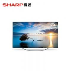 夏普70英寸4K超高清智能网络电视(1020快抢价)(1020快抢价)
