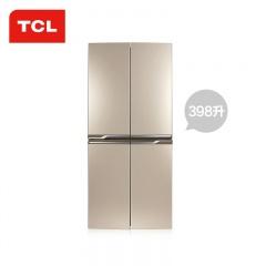 TCL 双动力自动化霜十字对开门冰箱