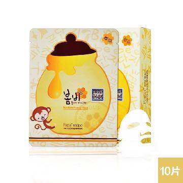 韩国 papa recipe春雨面膜贴 蜂蜜补水保湿 孕妇可用 10片