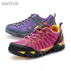 道途森女式户外登山徒步休闲鞋1+1套组