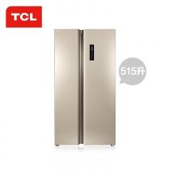 TCL 超薄对开门冰箱