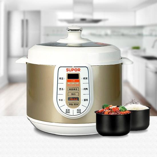 爱尚厨房-苏泊尔智能电压力锅