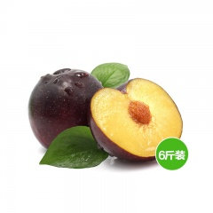 果园直供新鲜水果黑布林 6斤装