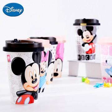 迪士尼米奇可爱陶瓷杯子卡通情侣杯