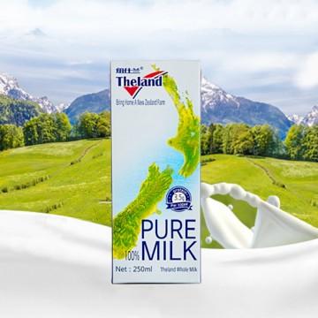新西兰 纽仕兰牛奶(250ML*72盒)