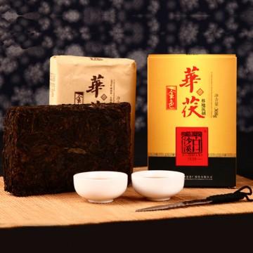 """正宗安化""""白沙溪""""金花茯砖健康黑茶组"""