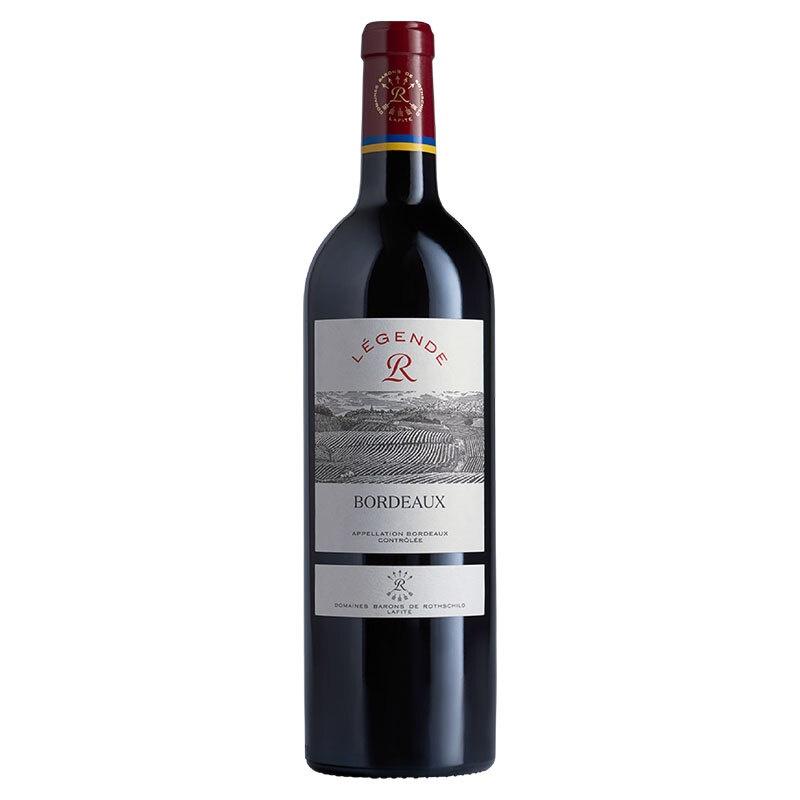 拉菲传奇波尔多2010_法国进口红酒拉菲(LAFITE)传奇波尔多干红葡萄酒750ml(ASC) 京 ...