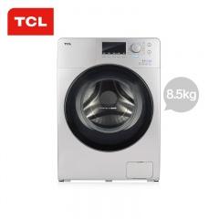 TCL 8.5公斤免污烘干滚筒洗衣机(TCL外场)