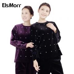 ElsMorr 美钻丝绒套装