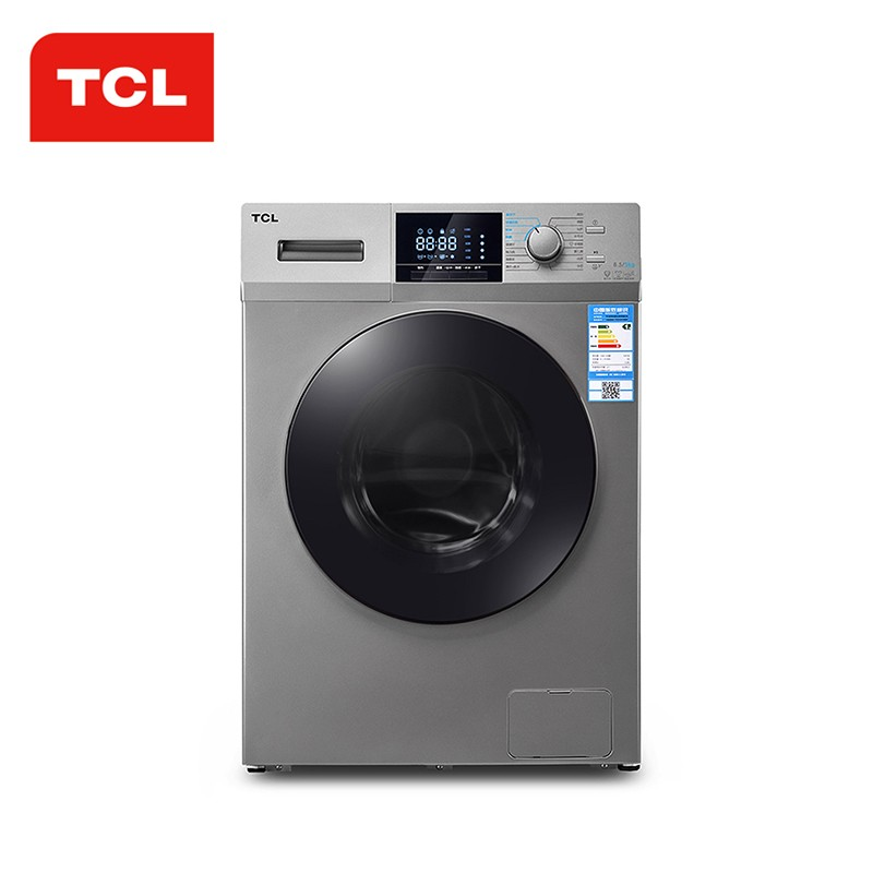 tcl8.5公斤免污洗烘一体变频滚筒洗衣机
