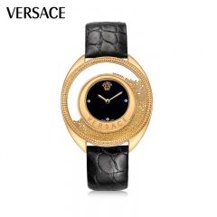 范思哲(VERSACE)金珠珐琅珠宝腕表 赠品:托帕石项链*1