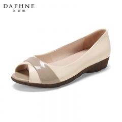 Daphne达芙妮羊皮舒软鱼嘴鞋