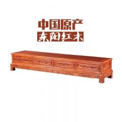 刺猬紫檀福禄寿电视机柜(订金)