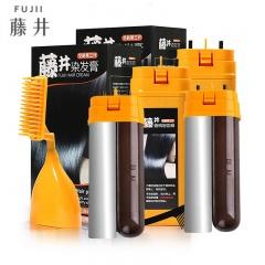 藤井 三位一体染发膏超值护理套装(染发膏2盒+配液管4盒)