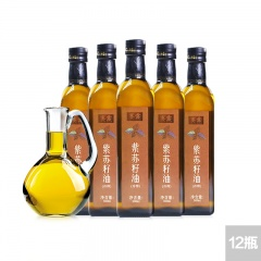 赛露紫苏籽油健康家庭分享组(500ml*12瓶)
