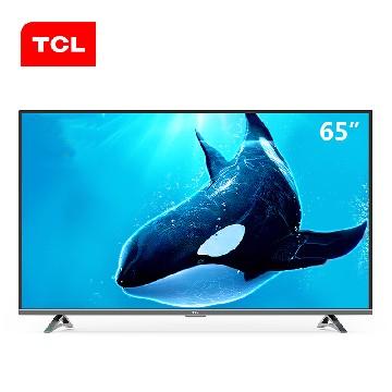 TCL65英寸4K超高清智能网络电视