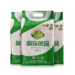 快乐购自营五常有机黑土香米组5KG*3袋