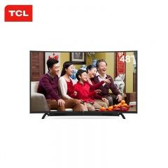 TCL 48英寸曲面智能网络电视(TCL外场)