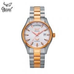 瑞士原装进口爱其华登峰系列真钻机械腕表