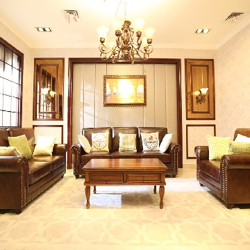 卡纳驰休闲美式客厅家具小全套
