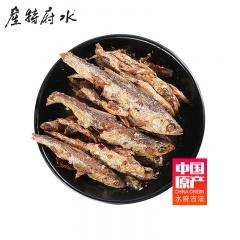 中国原产水府鱼罐头30罐实惠组(香辣味148g*15罐+豆豉味148g*15罐)