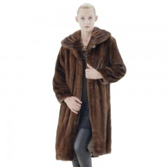 金尚伊龙凤之姿芬兰进口整貂超长裘皮大衣