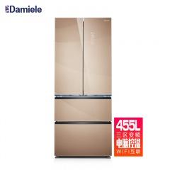 DAMIELE 达米尼新旗舰 455升 经典法式对开冰箱 (庆生价)