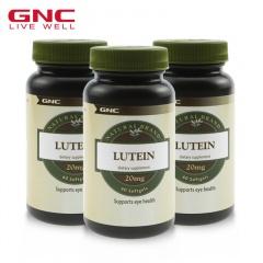 美国GNC叶黄素健康组 60粒*3瓶
