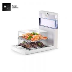 米技炫尚厨房折叠蒸汽料理机MIJI FS-S101A