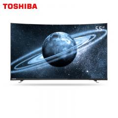 东芝55英寸超薄曲面AI语音智能电视55U6880C