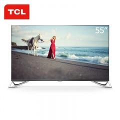 TCL雷鸟55英寸4K曲面互联网电视