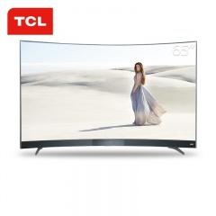 TCL雷鸟65英寸4K曲面互联网电视(拼拼拼)