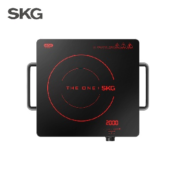 skg迷你电陶炉电磁炉家用智能茶炉光波炉电池炉台式爆炒火锅1648m