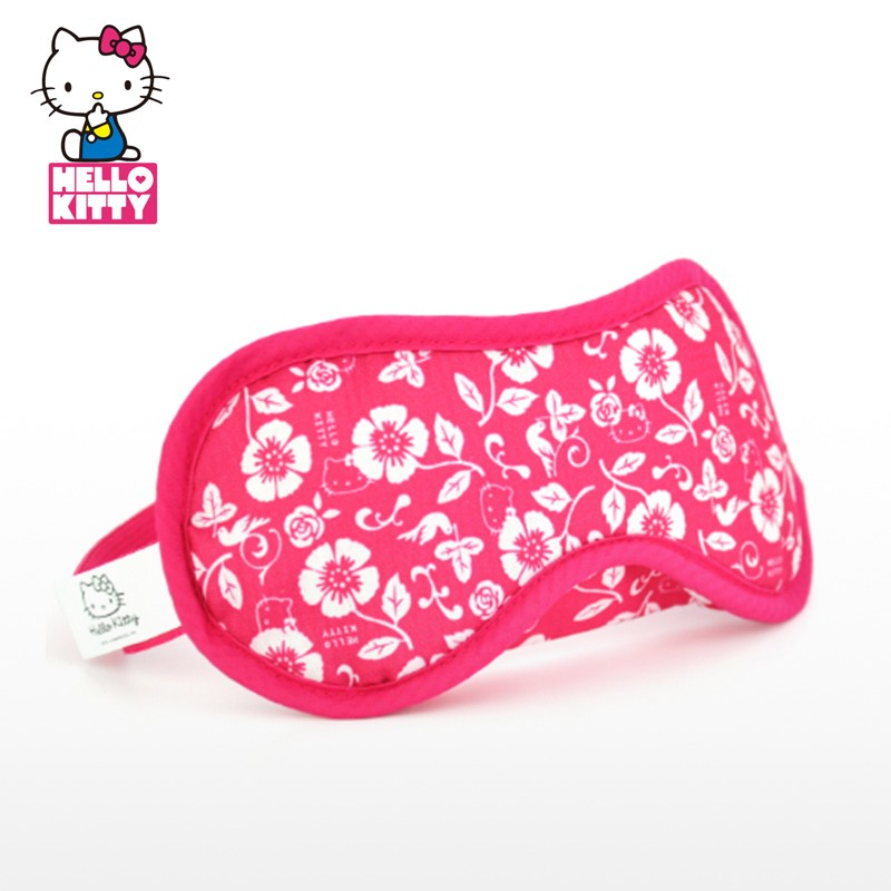 hello kitty/凯蒂猫 可爱花纹遮光眼罩