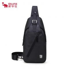 爱华仕休闲与时尚完美结合户外闲士必备单品OCK5593黑色