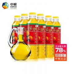 中粮新疆塔原红花籽油400ml*16瓶