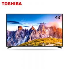 東芝43英寸平面2K網絡智能電視