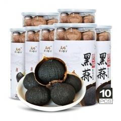山东出口级独头黑蒜养生组  250g*10罐